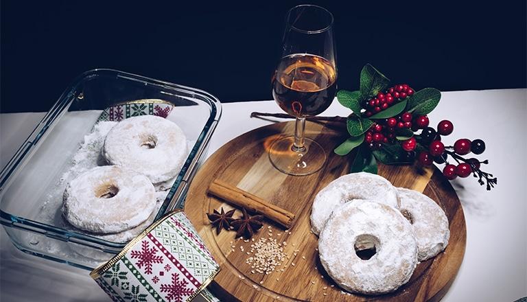 Roscos de vino sin gluten