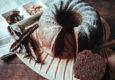 Bizcocho de algarroba con nueces sin azúcar