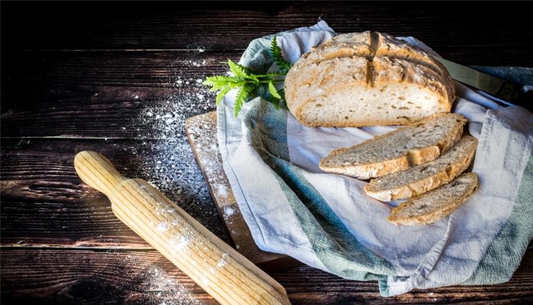 Pan de masa madre sin gluten
