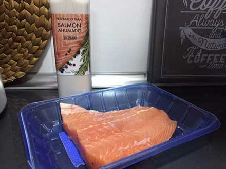 Comprar salmón ahumado